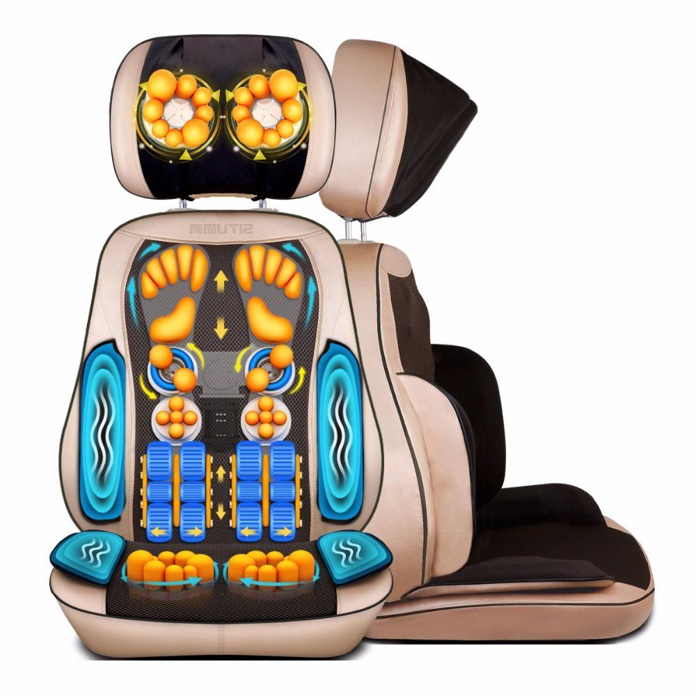 Zervikalen Nackenmassagegerät Taille Zurück Bein Massage Pad Körper Multifunktionale Kissen Massagestuhl Hause Geschenk Festival