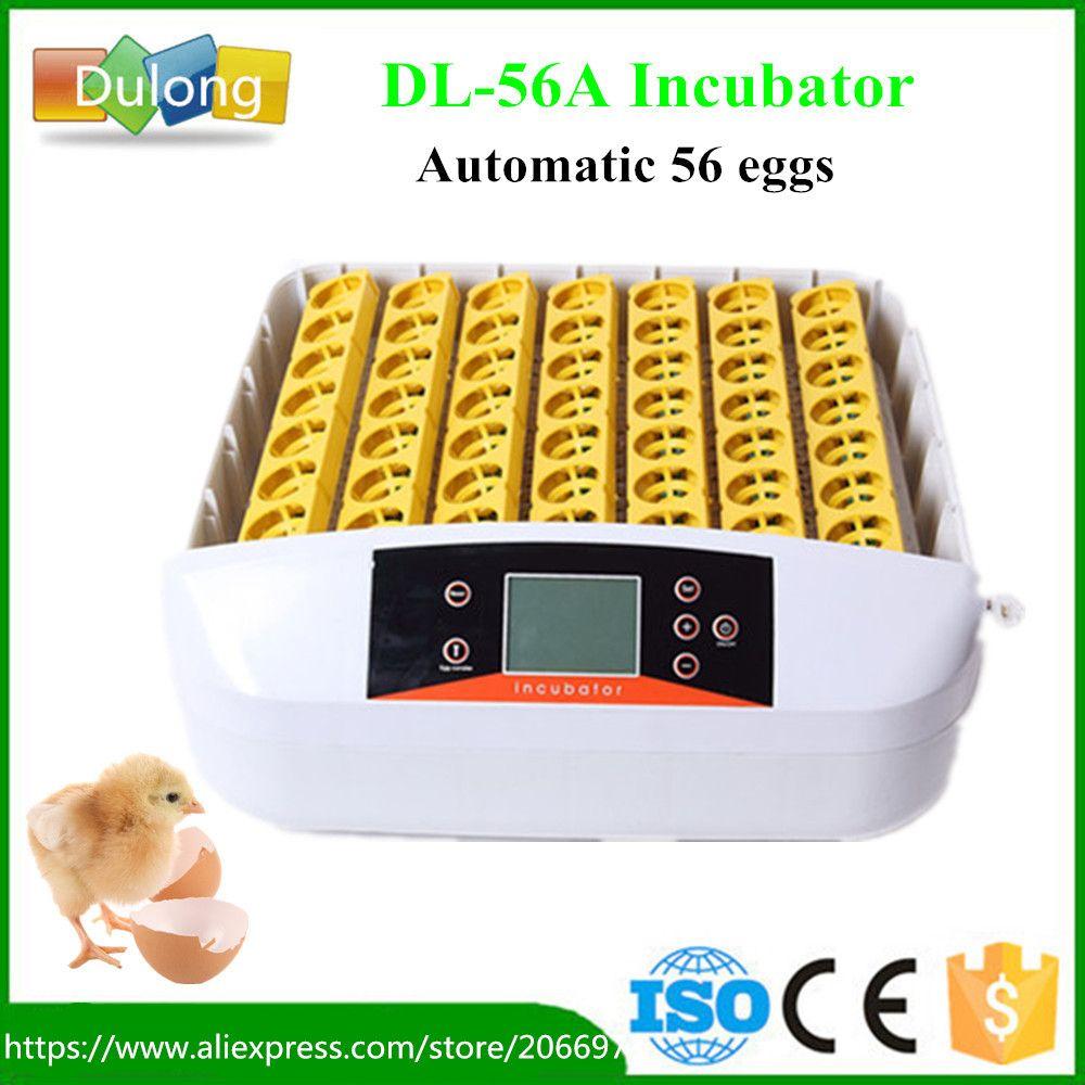 Новые питомнике автоматический 56 яиц инкубатор инкубатория Авто выводные машины с рабочим индикатор