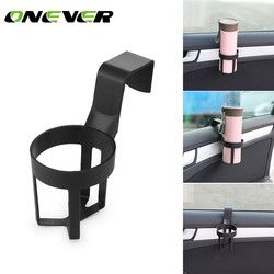 Onever Car Bottle Drink Holder Water Cup Holder Hanging Holder for Car Truck Interior Window Car Interior Accessories