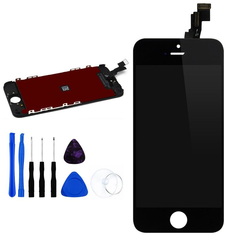 AAA LCD Screen Replacement For Apple iPhone 5 5c 5s 6 6Plus Screen Display Digitizer Assembly with Frame +Free Tools 100% Tested