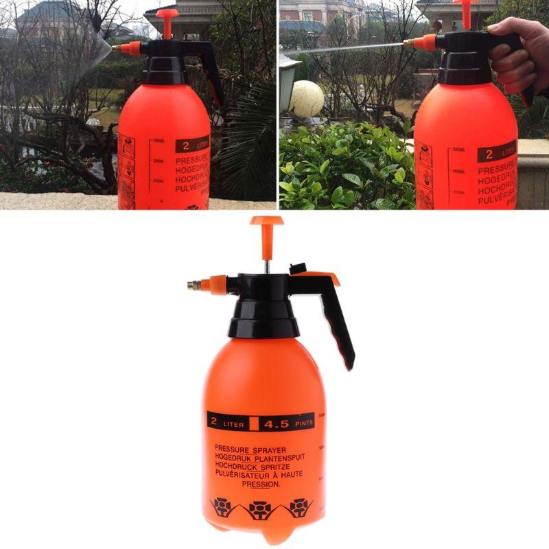 Nouveau Pot de pulvérisation de pression de lavage de voiture 2.0L Auto propre pompe pulvérisateur bouteille pressurisée haute résistance à la Corrosion