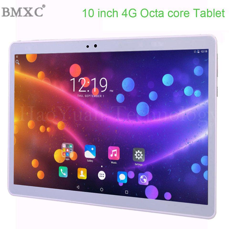 Offre Spéciale 2019 Nouveau 10 pouce tablet PC 3g 4g LTE Android 7.0 Octa Core 4 gb RAM 64 gb ROM WiFi GPS 10.1 IPS 1920*1200 + Cadeaux 10