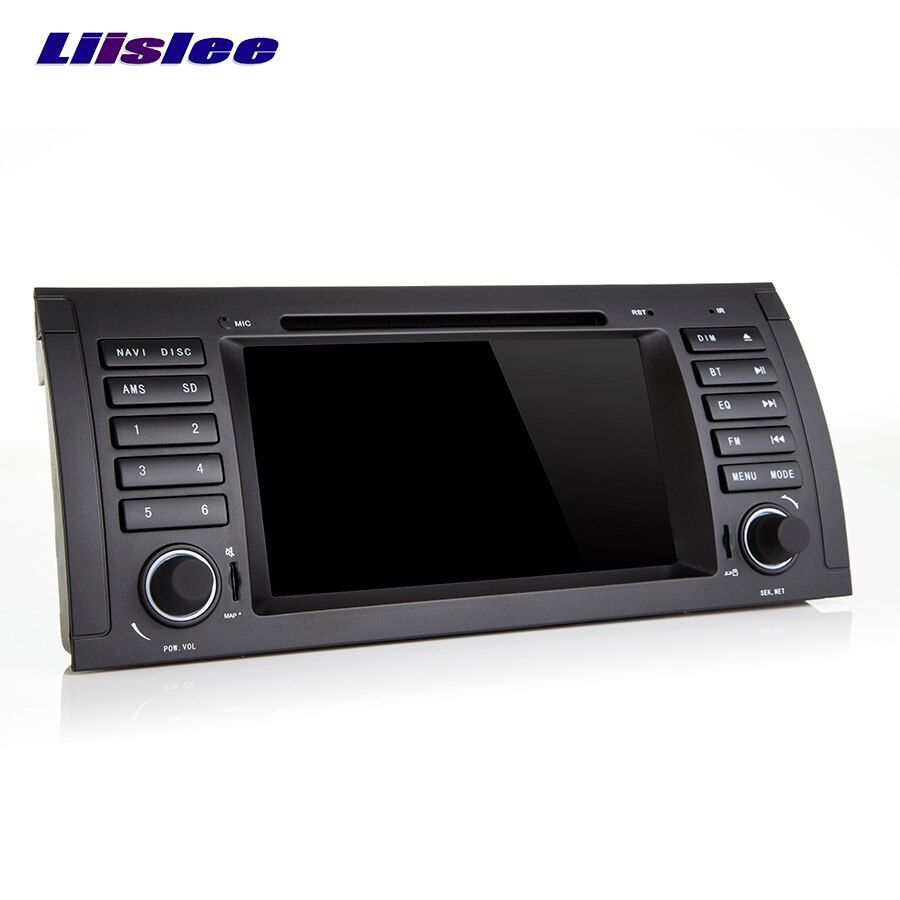 Liislee Android Touch Screen Car GPS For BMW 3 Series E46 Navigation Bluetooth Video player Support WiFi FM