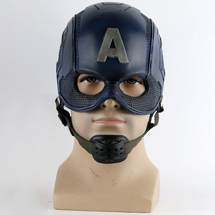2016 film super-héros casque Captain America guerre civile casque masque Cosplay Steven Rogers Halloween casque pour Collection