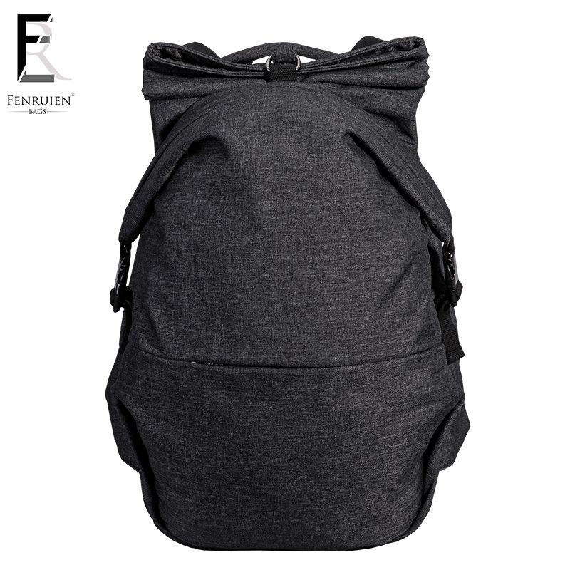 FRN 30L Cool Urban Backpack Bag Men Large Capacity Backpack USB Oxford Shoulder Rucksack Women 15