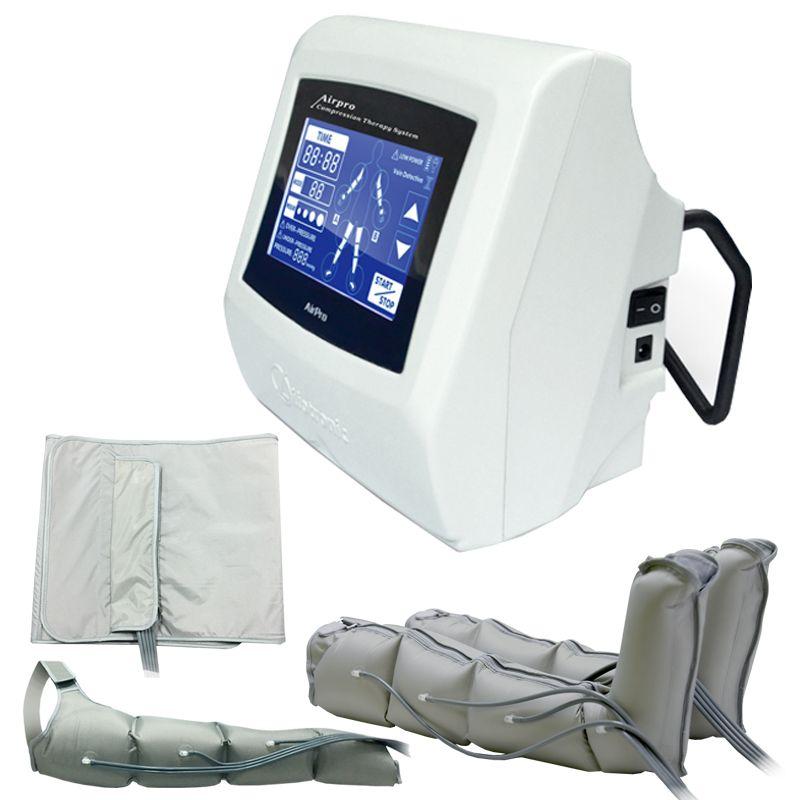 5 ''Touch Bildschirm Luftdruck kompressionstherapie Maschine Abnehmen Gewichtsverlust Lymphdrainage Entgiftung Schönheit maschine