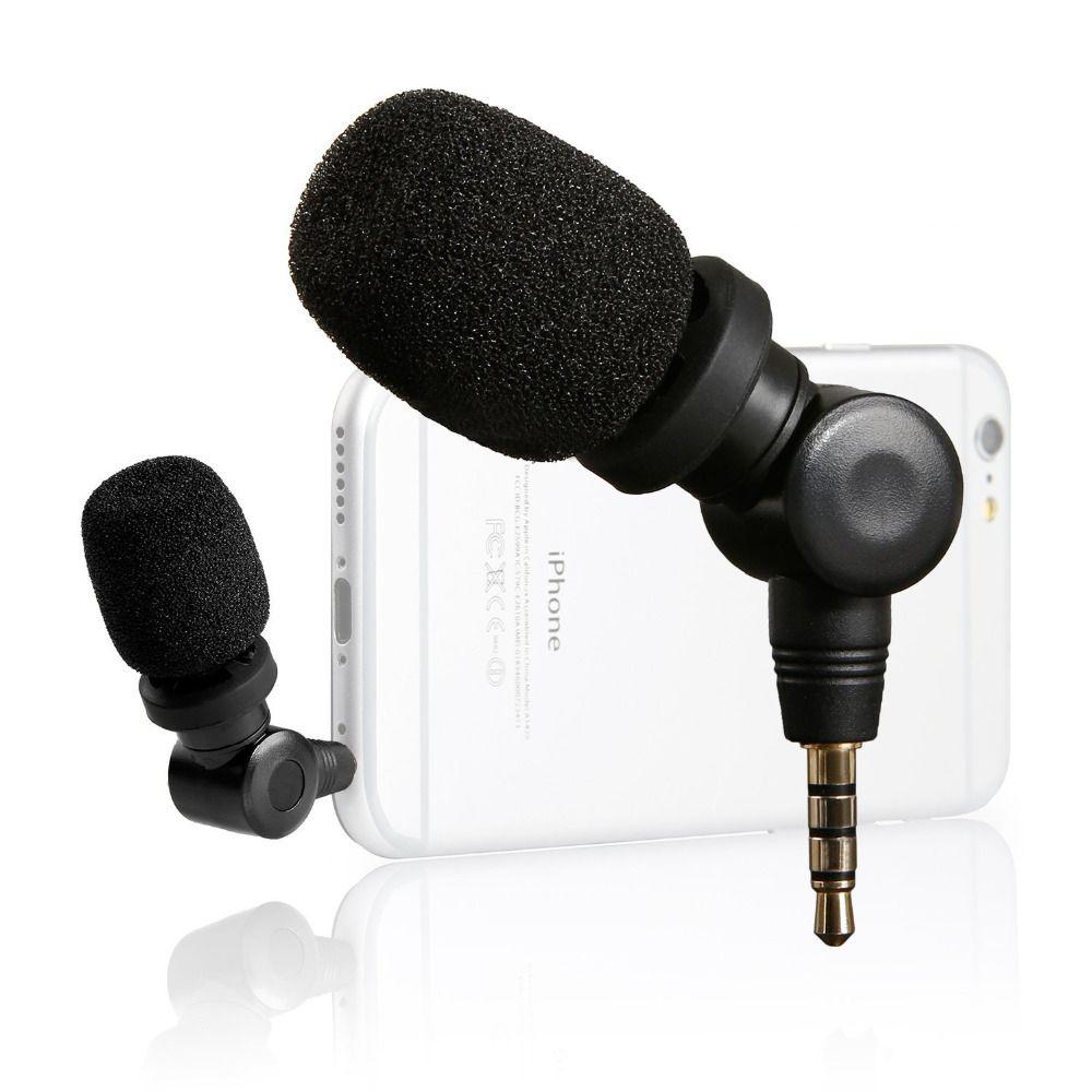 Micro directionnel Compact iMic saramonique pour Apple iPhone 7 s 6 s 7 6plus Samsung Huawei HTC micro enregistreur pour Smartphones