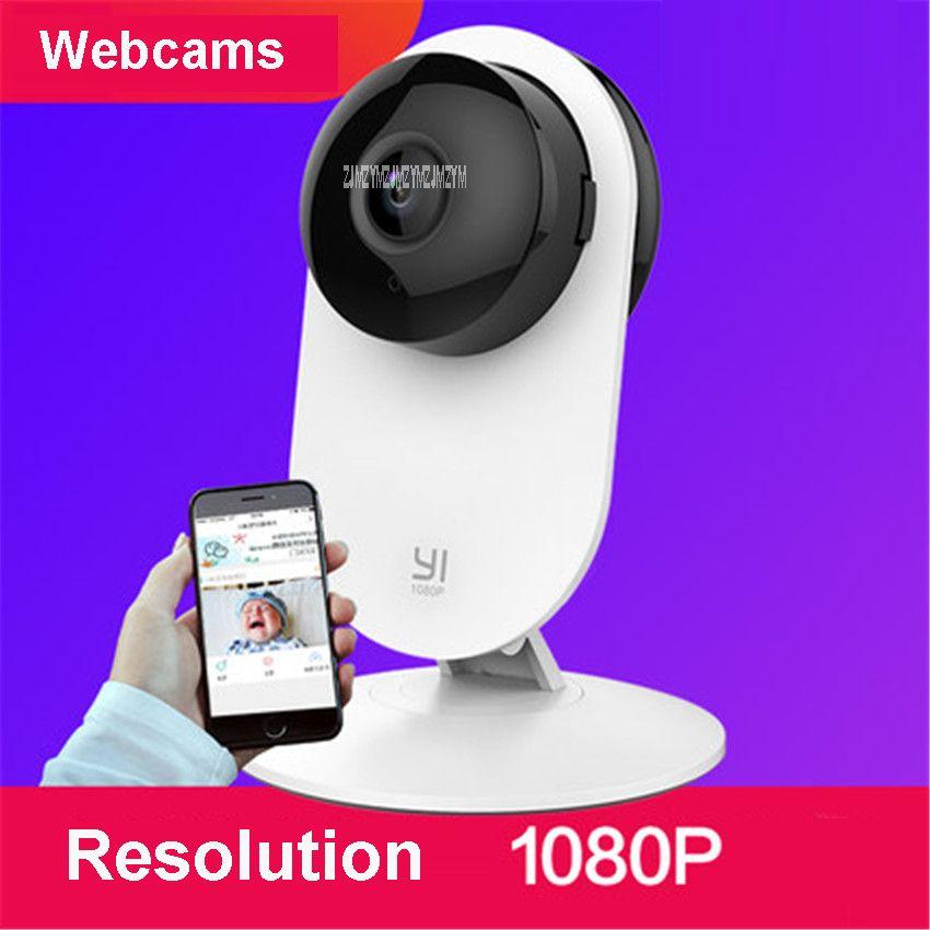 Hause Kamera 2 FHD 1080 P auflösung Smart WiFi Ip-kamera 130 Weitwinkel Webcam Gestenerkennung 5 V spannung Webcams