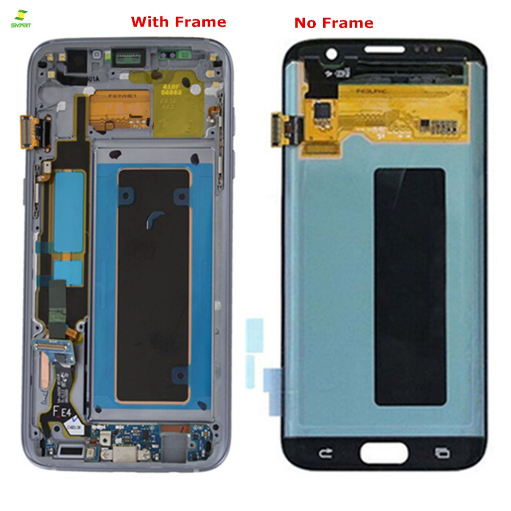 S7 Edge 5.5'' Lcd For SAMSUNG Galaxy S7 edge LCD Display Screen G935 G935F Lcd Touch Digitizer LCDs Assembly Replacement Parts