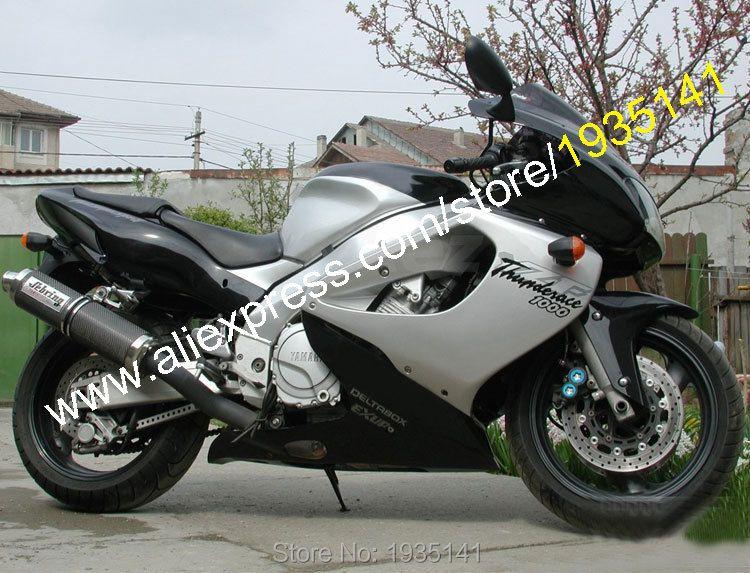 Heiße Verkäufe, für Yamaha YZF1000R Thunderace YZF 1000R 1997-2007 YZF 1000 R 97-07 Schwarz Silber Karosserie Sportbike Motorrad verkleidung