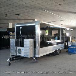 Shanghai UKUNG fast food trucks /mobile food carts/mobile restaurant caravan, mobile dinner truck