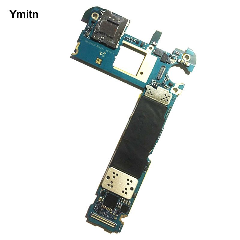 Ymitn Work Motherboard Unlocked Official Mainboad With Chips Logic Board Europe Version For Samsung Galaxy S6 edge G925F G925i