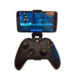 Teléfono montaje soporte HandGrip para Xbox ONE S/Slim los controlador para Steelseries Nimbus Gamepad iphone X Samsung S9 s8 Clip titular