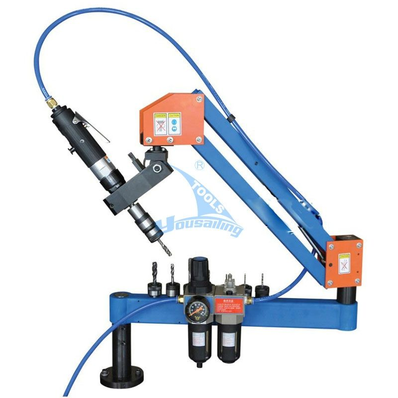 YOUSAILING Quality QM-12W M3-M12 Automatic Pneumatic Threading Machine Air Tapping Machine Pneumaic Tapper Tool Universal Head
