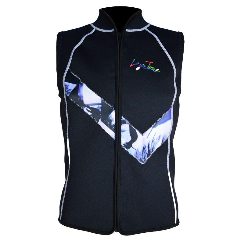 Diving Vest 3mm Neoprene Swimsuit Diving Wetsuit Surf Sleeveless Lycra Print Vest Special Offer Men Swimwear Layatone K1605