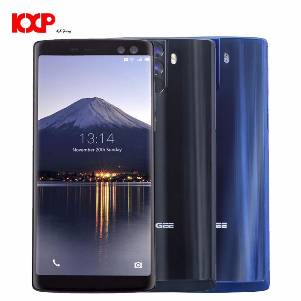 NEW DOOGEE BL12000 Pro 4G 6GB+64GB/128GB Octa Core Mobile Phones Android 7.0 Smartphone 12000mAh Battery 6.0 inch FHD Cell Phone
