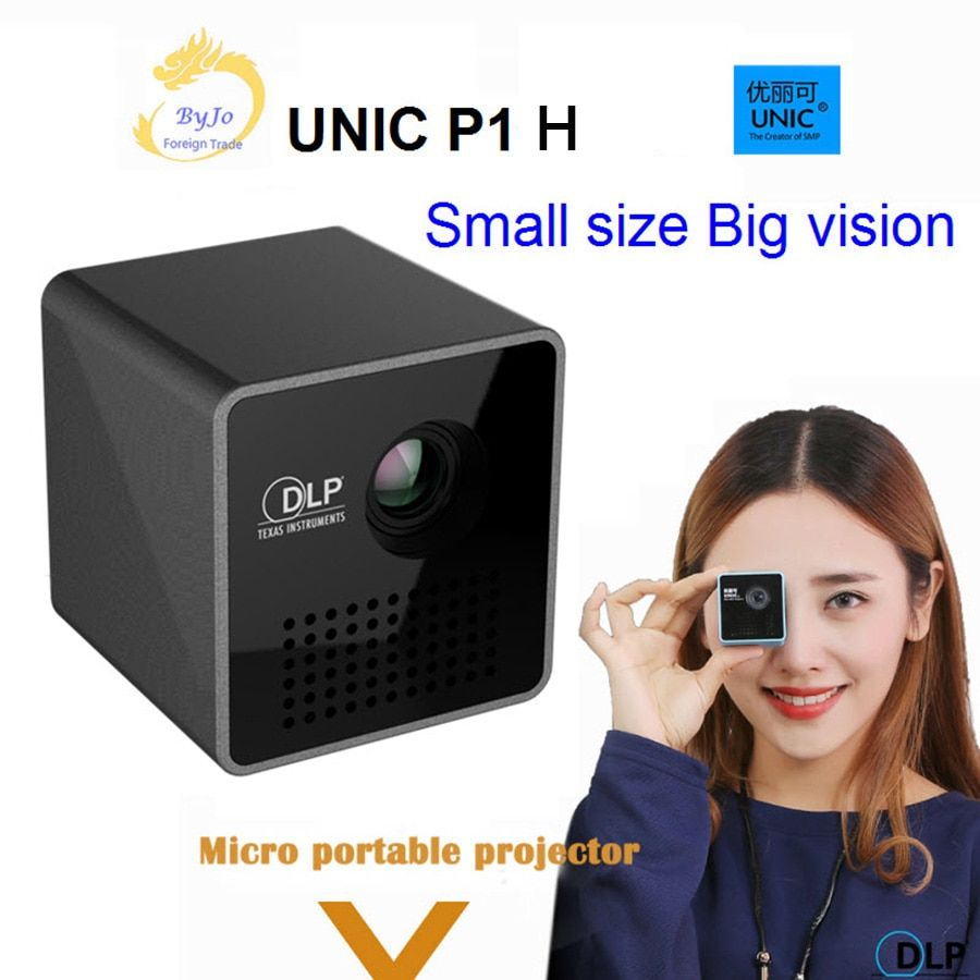 onlyOriginal UNIC P1 series Mobile Projector P1H Pocket Home Movie Projector Proyector Beamer