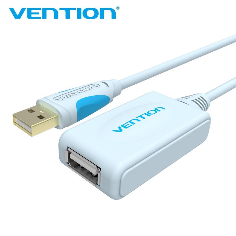 Tions USB 2.0 Verlängerungskabel Mit Verstärker 5 mt Draht 15FT Typ A stecker auf A Buchse Typ USB Kabel Für PC Maus U Disk Webcam