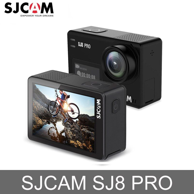 Original SJCAM SJ8 Pro Action Kamera 4 K 60fps Wasserdichte Sport Action Kamera WiFi Remote Video Kamera HD DVR Auto kamera