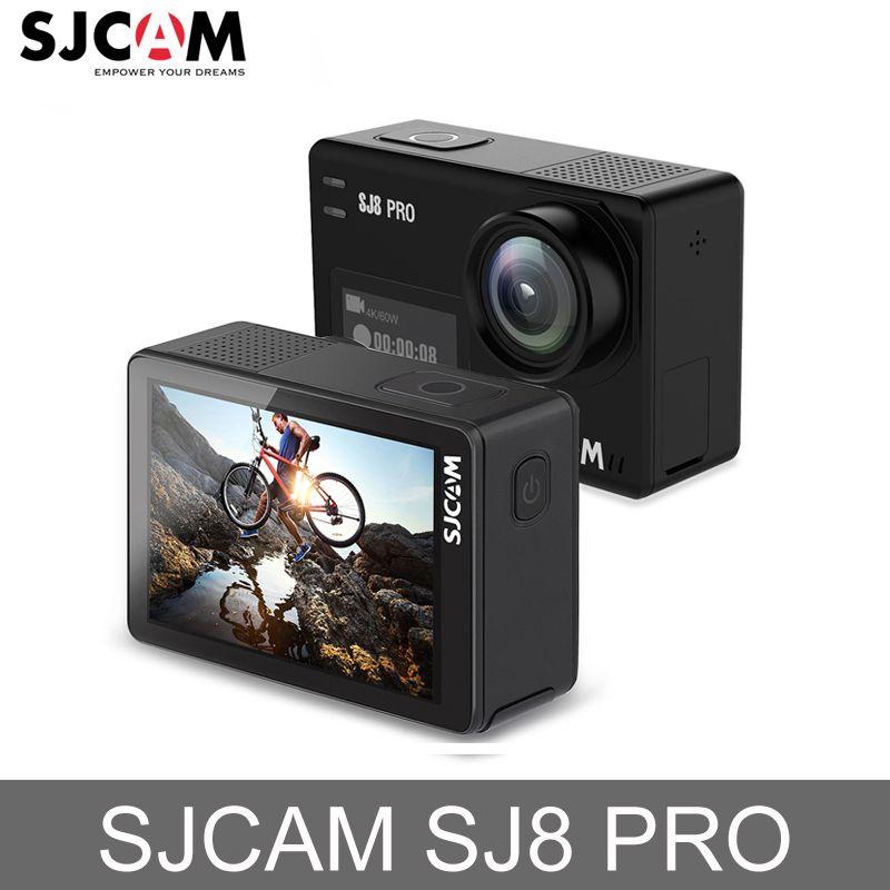 Original SJCAM SJ8 Pro Action Kamera 4 karat 60fps Wasserdichte Sport Action Kamera WiFi Remote Video Kamera HD DVR Auto kamera