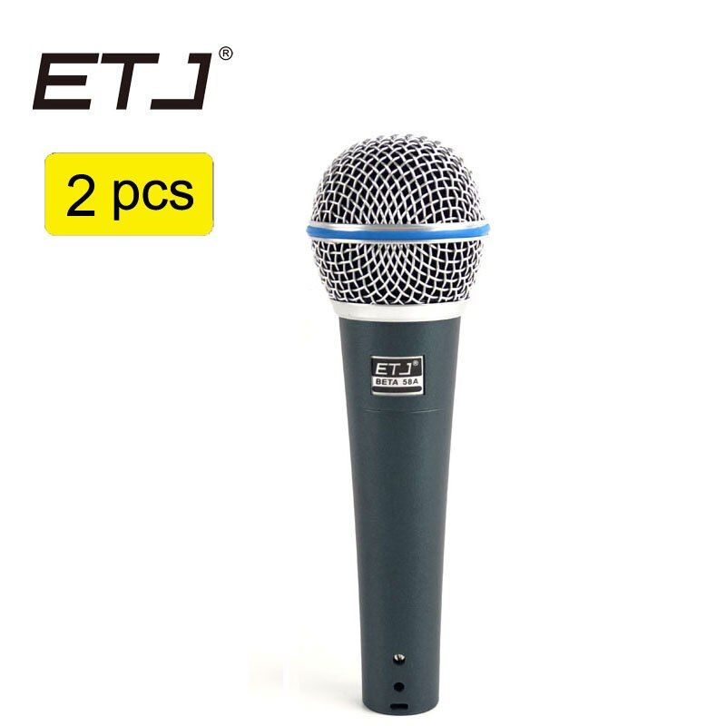 Free shipping Beta58a Professional Beta 58 58A Clear Sound Handheld Wired Karaoke Microphone ETJ