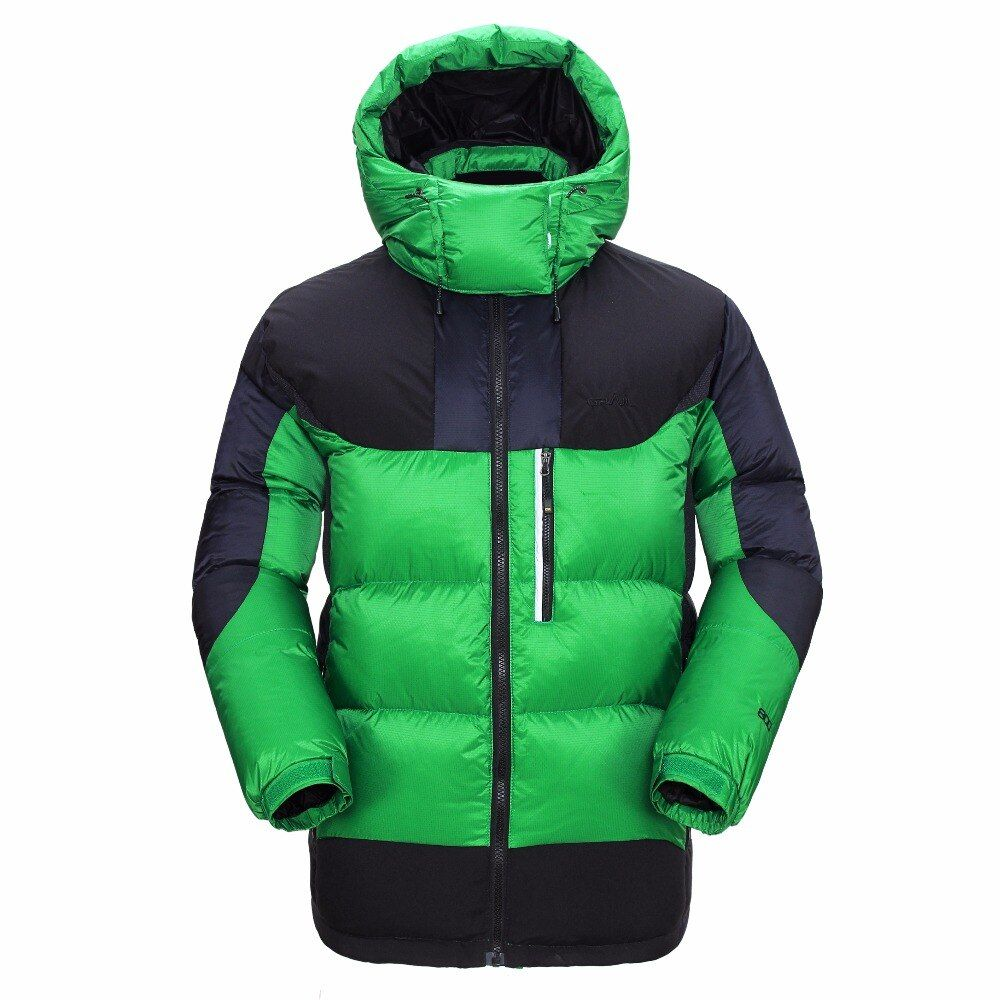 GRAIL Outdoor Warm Heavy Down Jacket Winter Multifunctional Coat Mens Ski Snowboard Suit Waterproof Wind Stopper Jacket 6523A