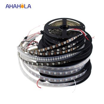 5V WS2812b led strip ws2812 30 60 144 led/m addressable rgb led strip similar with sk6812 pixel strip