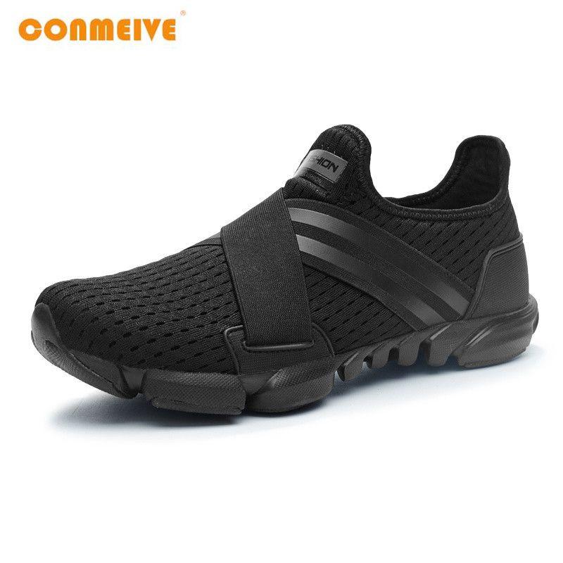 2018 Limitée Dur Cour Large (c, d, w) chaussures de course Hommes Respirant Sneakers Slip-sur Free Run Sport Remise En Forme de Marche Freeshipping