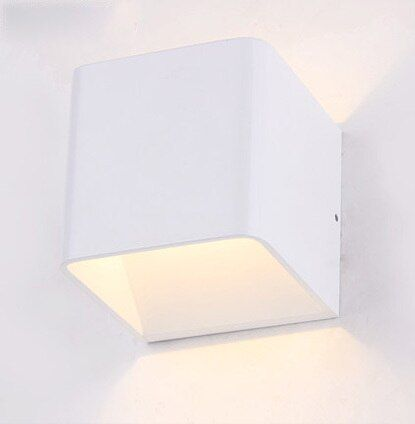 contracted element modern wall lamp  LED wall lamp sitting room the bedroom wall light contains LED light source free shipping