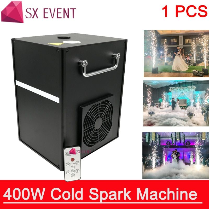 400w Cold Spark Firework Machine For Wedding Celebration Dmx And Remote Control Spark Fountain Sparkular Machine For Stage