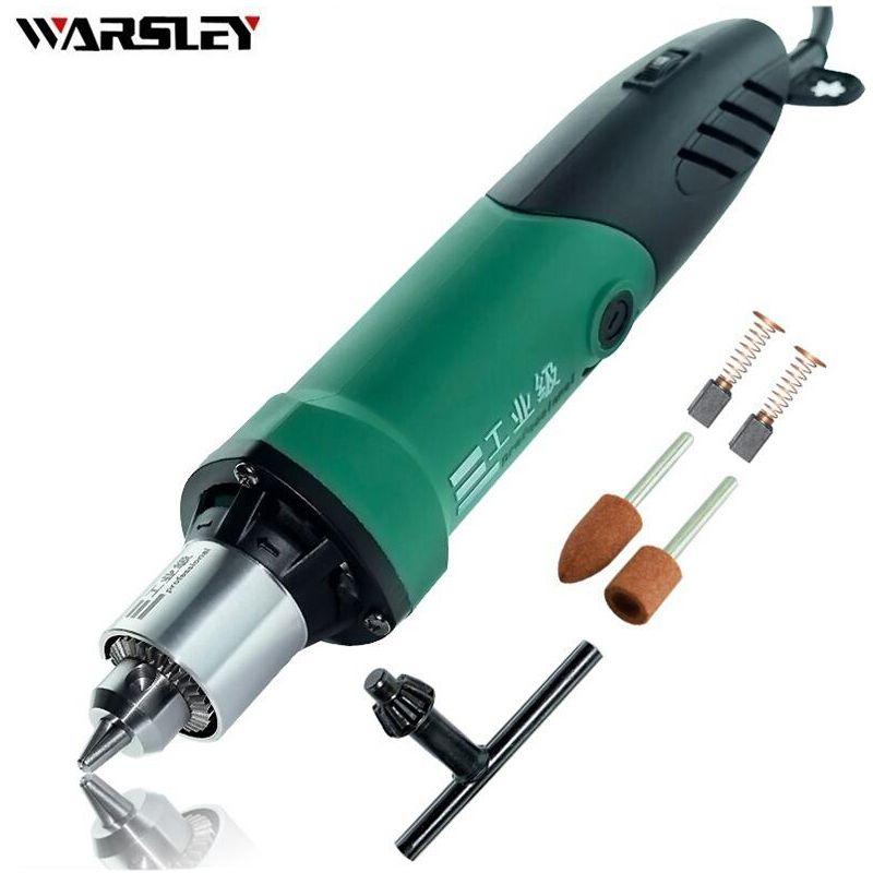 Dremel Mini perceuse électrique graveur outils rotatifs 480 W avec arbre Flexible et accessoires dremel avec 6 vitesses variables