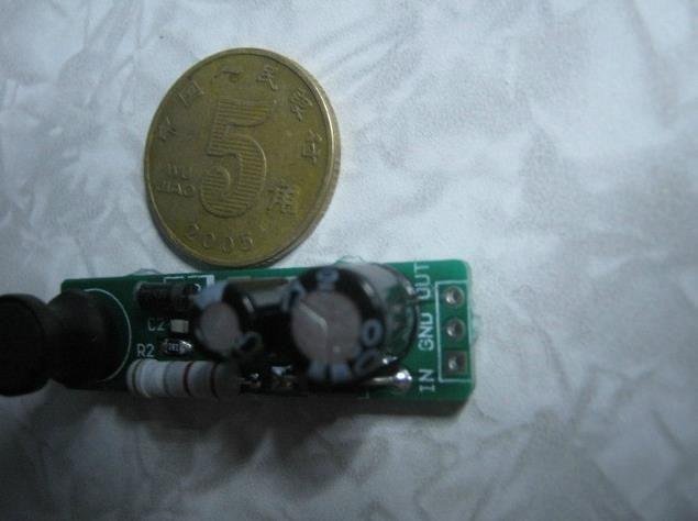 Free Shipping!!!dc12V boost module CCD camera Boost plate MC34063