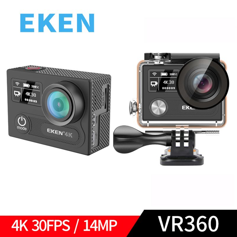 EKEN H8R H8 Ultra HD 4K WIFI 14MP Action Camera 1080p 60fps 4 K Dual Screen Mini Cam 30M Waterproof Go Sport DVR Extreme Pro Cam