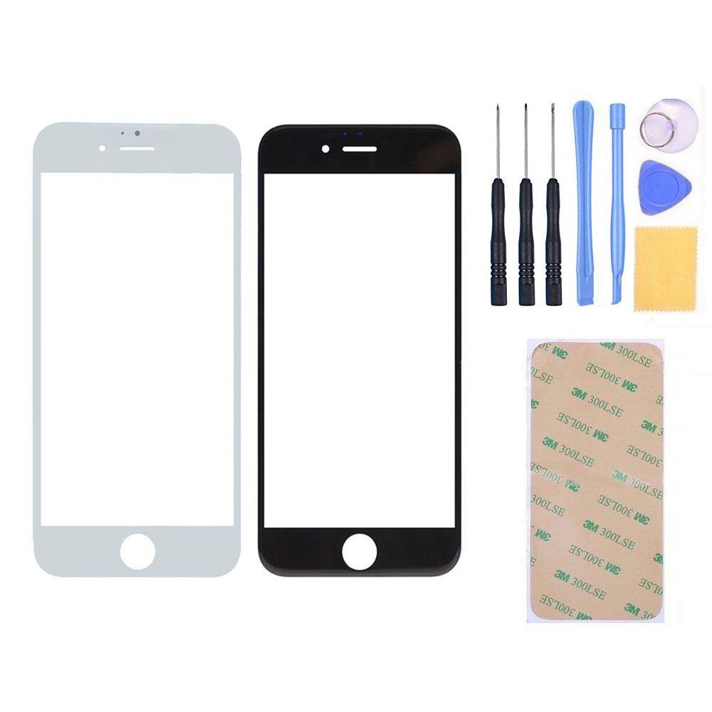 Nouveau LCD Avant Écran Tactile Extra-Atmosphérique Lentille En Verre Panneau Pour iphone 6 6s plus Avec 3 M Adhésif + Outils Gratuits, Livraison gratuite et Numéro de Suivi