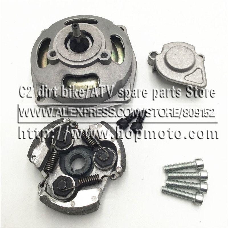 Mini Moto Clutch and Gear Box Sprocket T8F 6 Tooth 7T For 2 Stroke 47cc 49cc Engine Chinese Pocket Bike Dirt ATV Quad 4 Wheeler