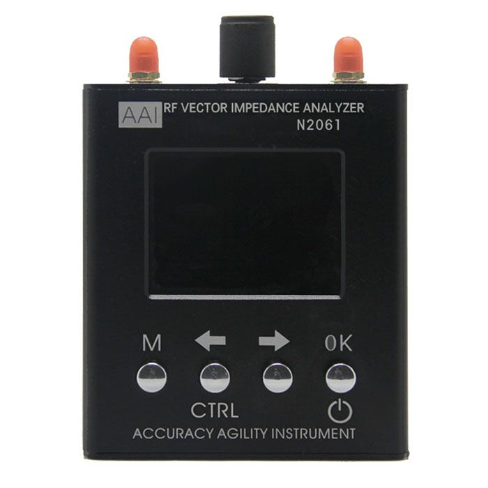 English verison N2061SA 1.1mhz to 1300MHz RFID antenna impedance analyzer talent increased UV short wave 1.1MHz-1300MHz
