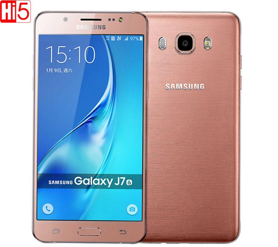 Unlocked Samsung Galaxy J7 J7108 Mobile phone Dual Sim 5.5