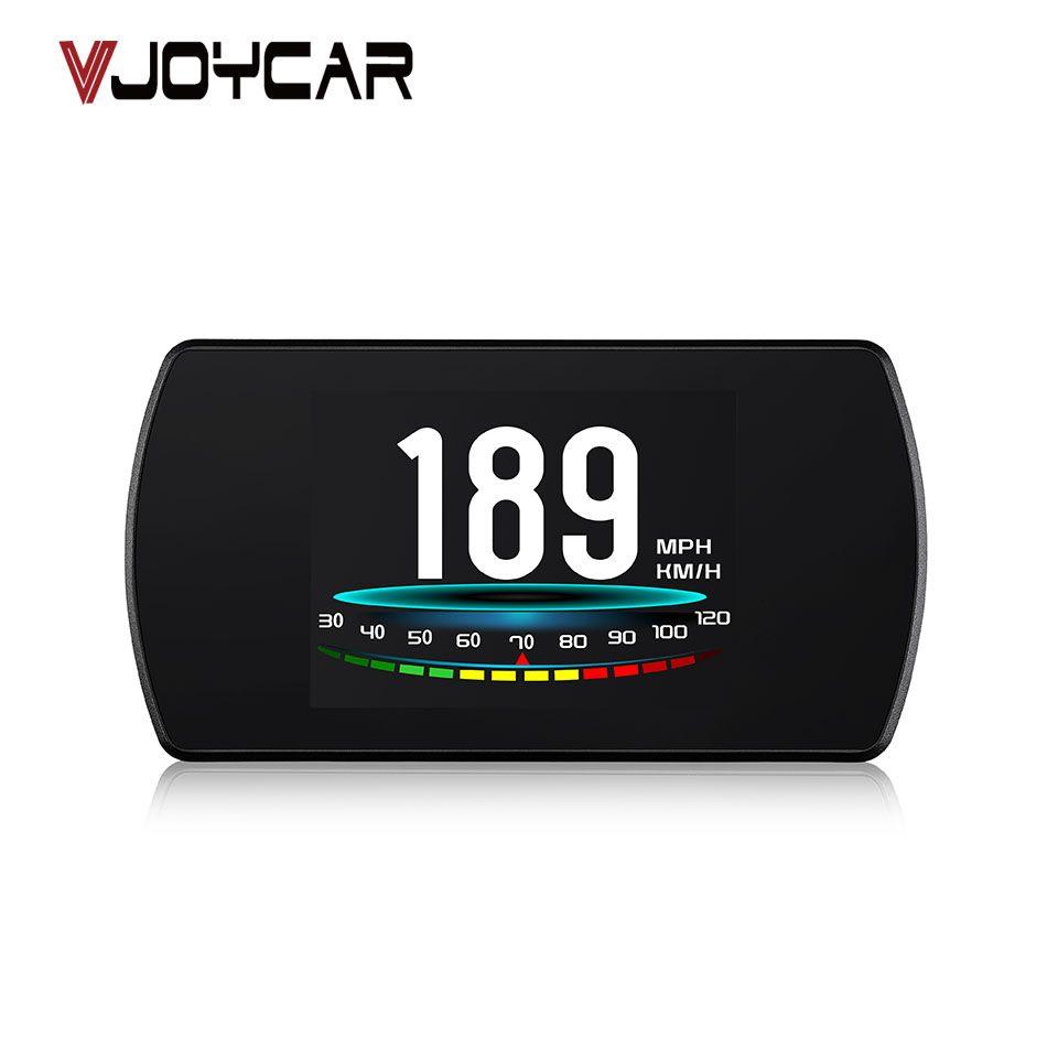 VJOYCAR P12 5.8 TFT OBD Hud Head Up Display Digital Car Speed Projector On-Board Computer OBD2 <font><b>Speedometer</b></font> Windshield Projetor