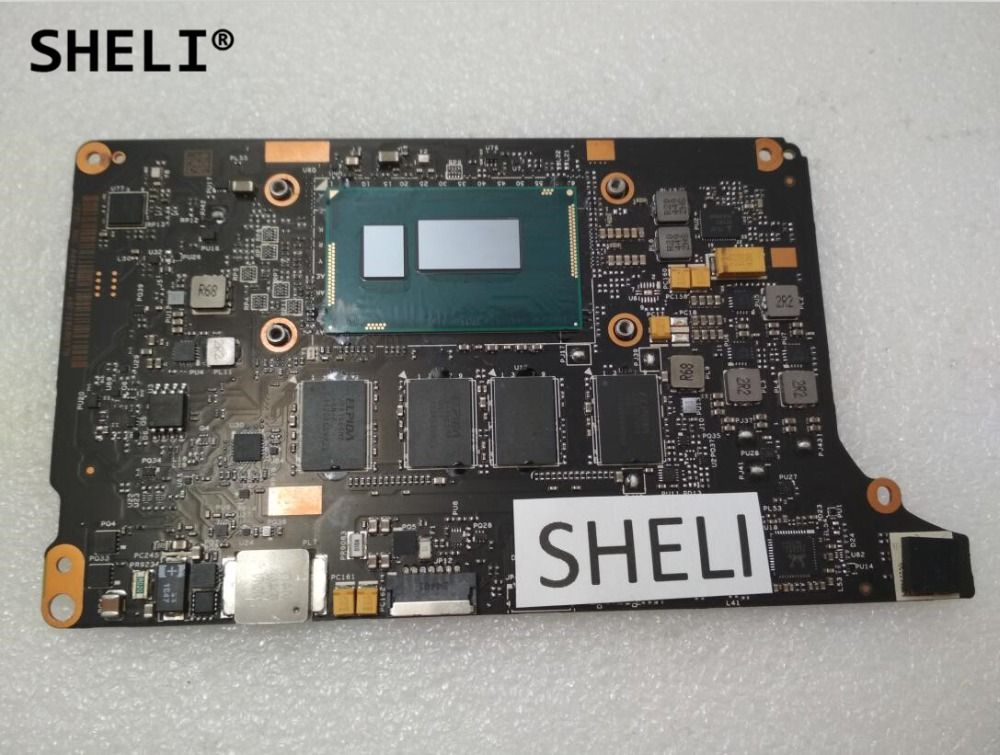 SHELI For Lenovo Yoga 2 Pro Motherboard with I7-4510U processor 8G VIUU3 NM-A074