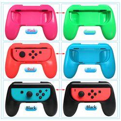 2 pcs/ensemble Nintend Interrupteur ABS Gamepad Grip Poignée Joypad Support à pour Nintendo Commutateur Gauche Droite Joie-Con Jeu contrôleur
