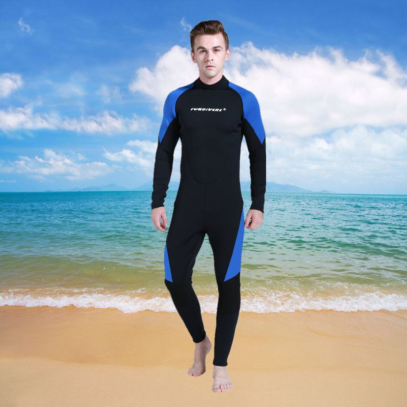 High Quality 3MM Neoprene Scuba Diving Wetsuit Winter Swimming Surfing Clothing Men Warm Jumpsuit Wetsuits