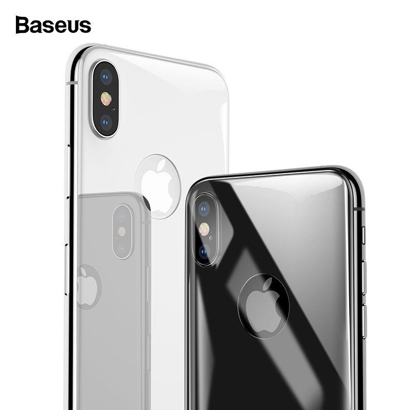 Baseus Zurück Screen Protector Gehärtetem Glas Für iPhone Xs Max Volle Abdeckung Hinten Schutz Gehärtetem Glas Film Für iPhoneXS Max