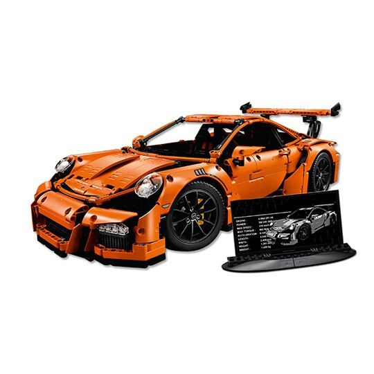 New LEPIN 20001 technic series Race Car Model Building Kits Blocks Bricks Compatible 42056 for Boys Gift Educational Toys 20001B