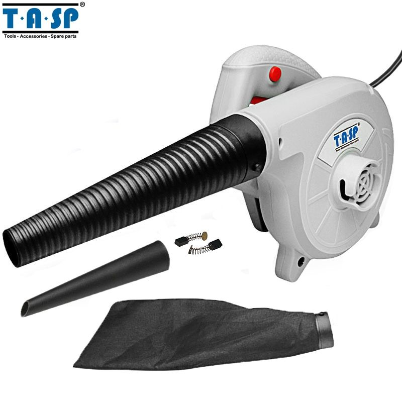 TASP 220V 600W Electric Air Blower Hand Turbo Fan Computer Dust Cleaner Collector -MABV600