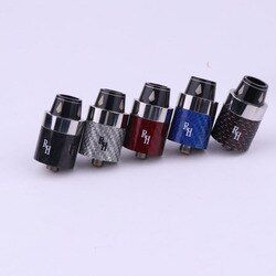 XFKM RH RDA 22mm carbon fiber atomizer Vaporizer fit 510 box Mod tank vapor Electronic cigarette RDTA