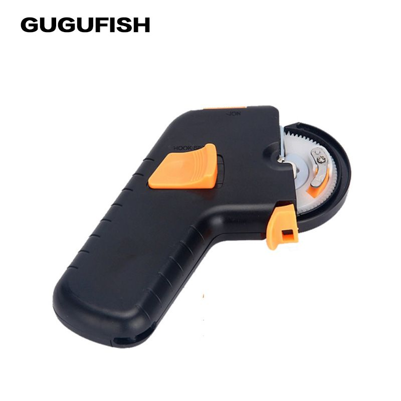 GUGUFISH New Fishing Tool Metal ABS Automatic Machine For Lure Fishing Hook Tier Electric tie hook device