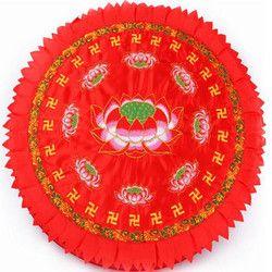 Buddha Perlengkapan Buatan Tangan Bordir Lotus Bantal Ibadah Budda Berlutut Bantal Biksu Meditasi Mat Kuhon Lotus Futon