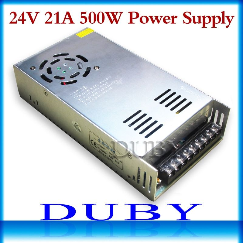 New model 24V 20A 480W Switching power supply Driver For LED Light Strip Display AC100-240V Factory Supplier