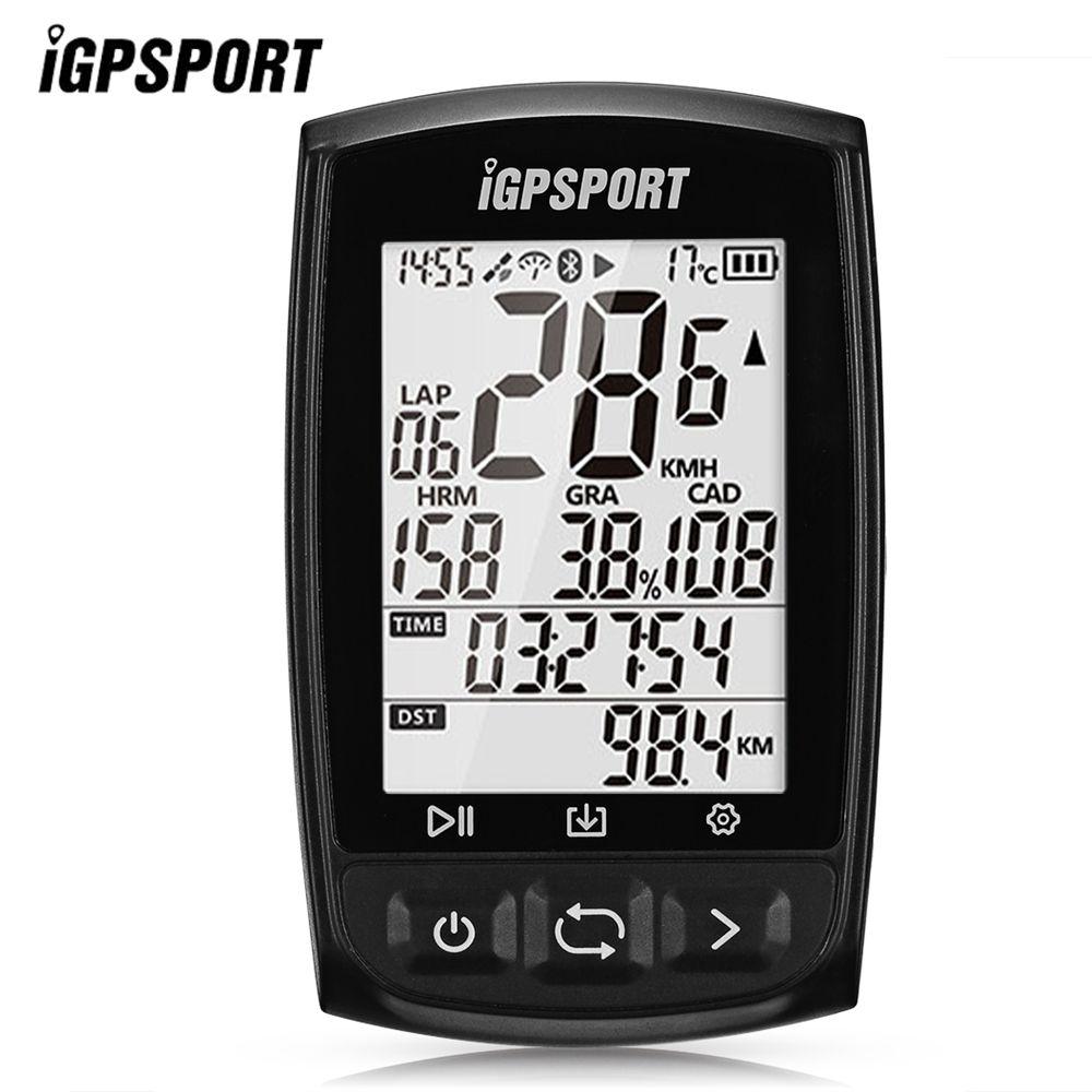 IGPSPORT IGS50E Wireless GPS Waterproof IPX7 Bluetooth 4.0 Bike Computer LED Speedometer Digital Stopwatch Cycling Computer