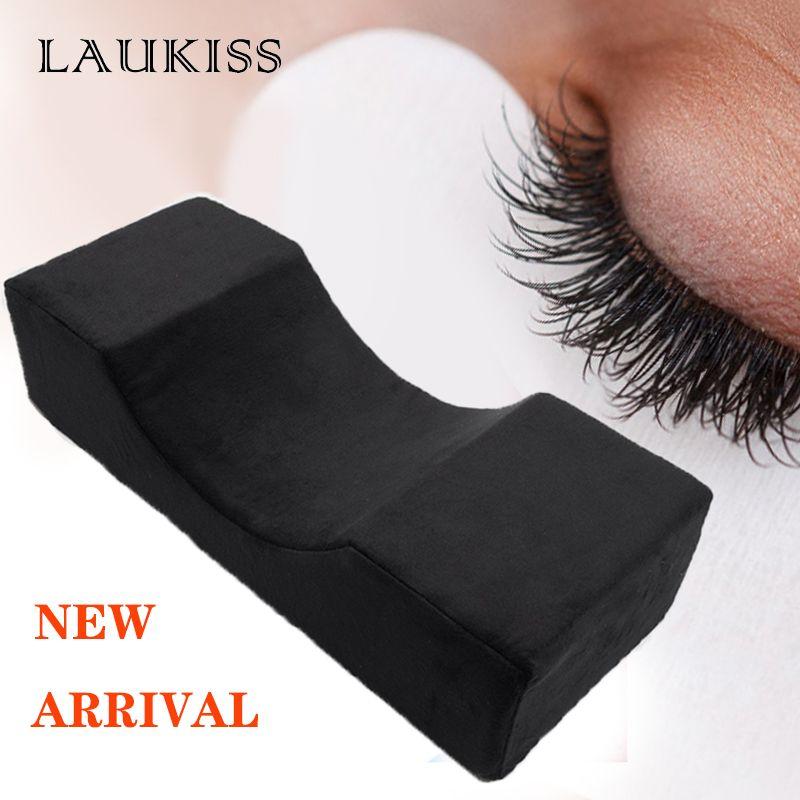 Extension de cils professionnelle oreiller doux greffé cils flanelle oreillers pour Salon de beauté utiliser appui-tête soutien du cou